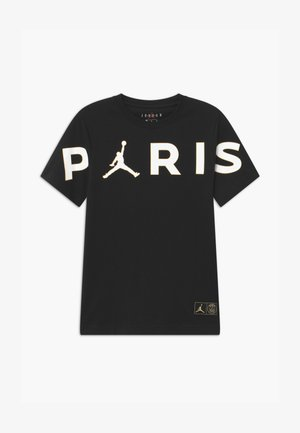 PARIS HEADER - Print T-shirt - black
