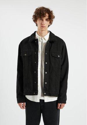 Džínová bunda - mottled black