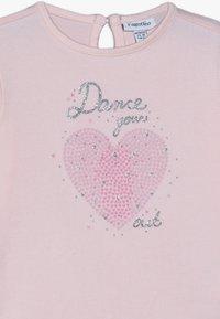 OVS - BABY PRINT 2 PACK - Langærmede T-shirts - brilliant white/blushing bride - 4