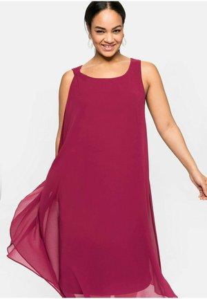 Korte jurk - himbeere