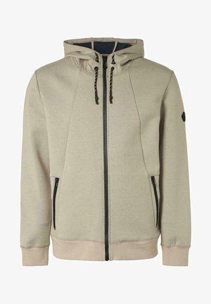 Zip-up hoodie - sand