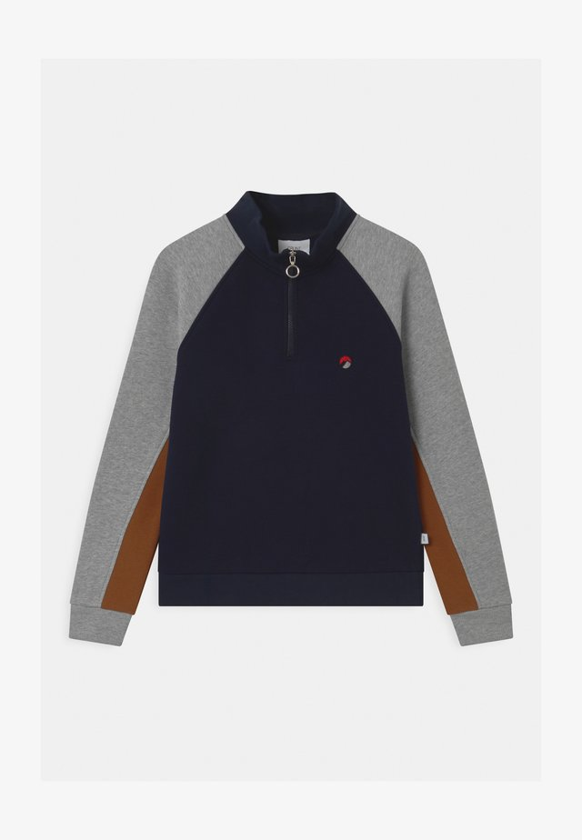 WESTONE ZIP - Sweater - wave blue
