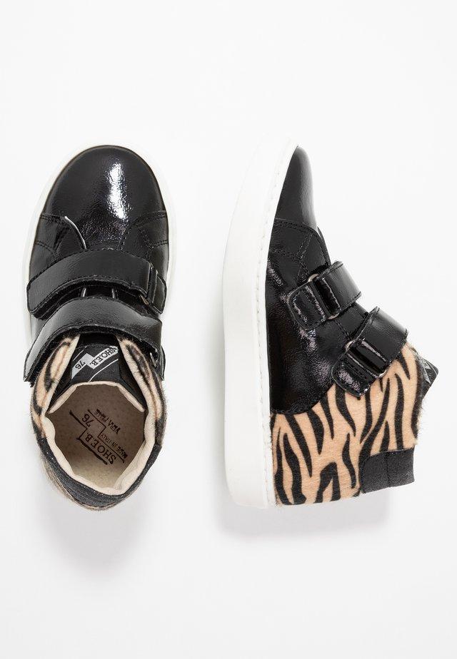 Sneakers high - black