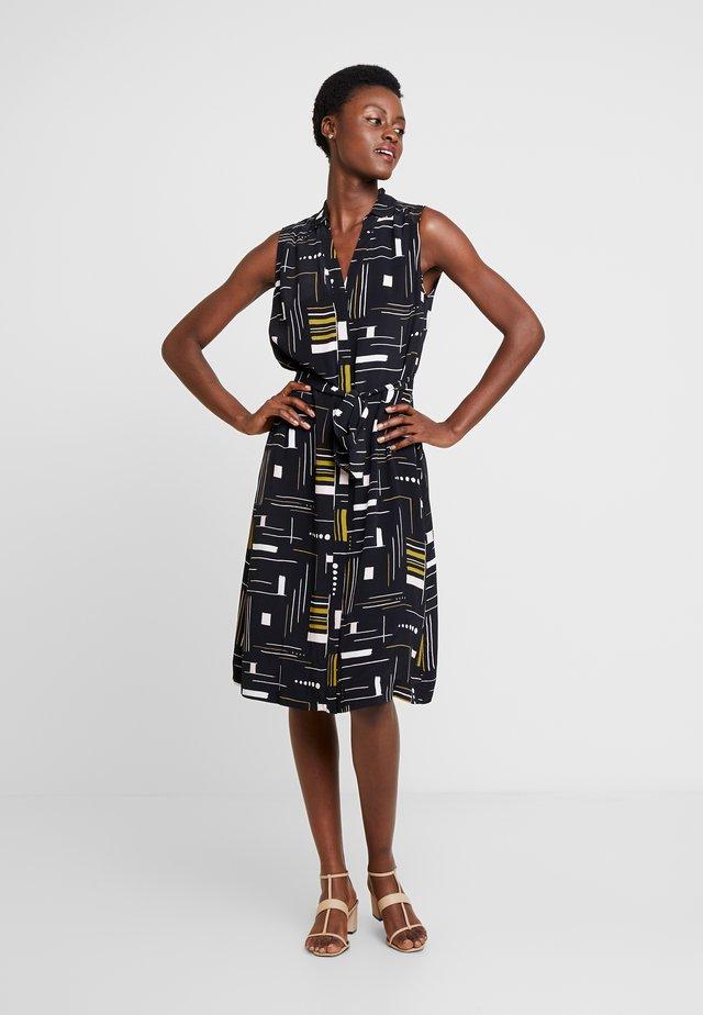 CASSANDRA DRESS - Korte jurk - black/multi