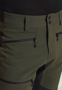 Haglöfs - RUGGED FLEX PANT  - Outdoor trousers - deep woods/true black - 4