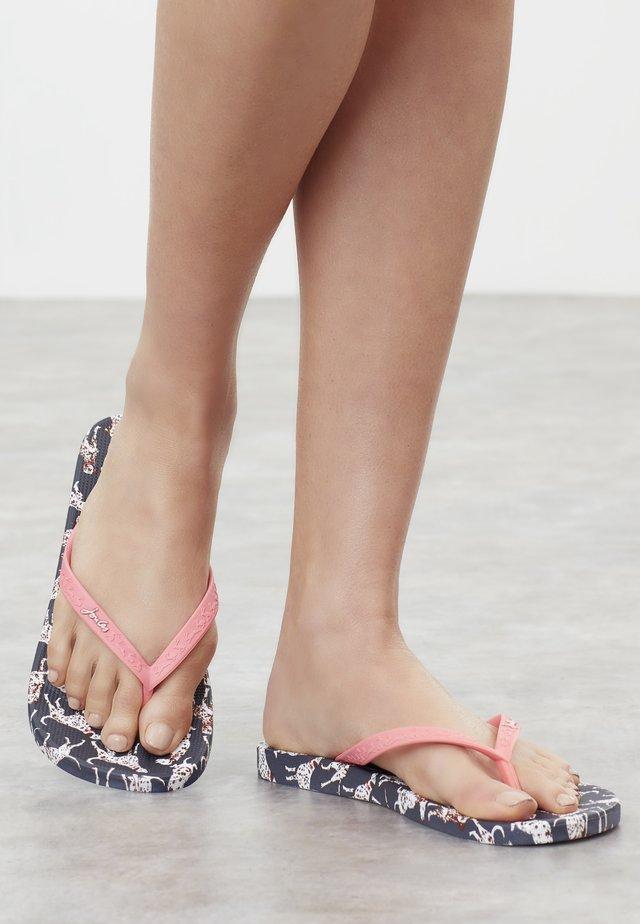 Sandały kąpielowe - marineblauer dalmatiner