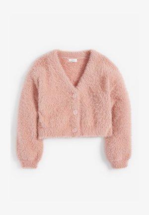 FLUFFY - Kardigan - pink