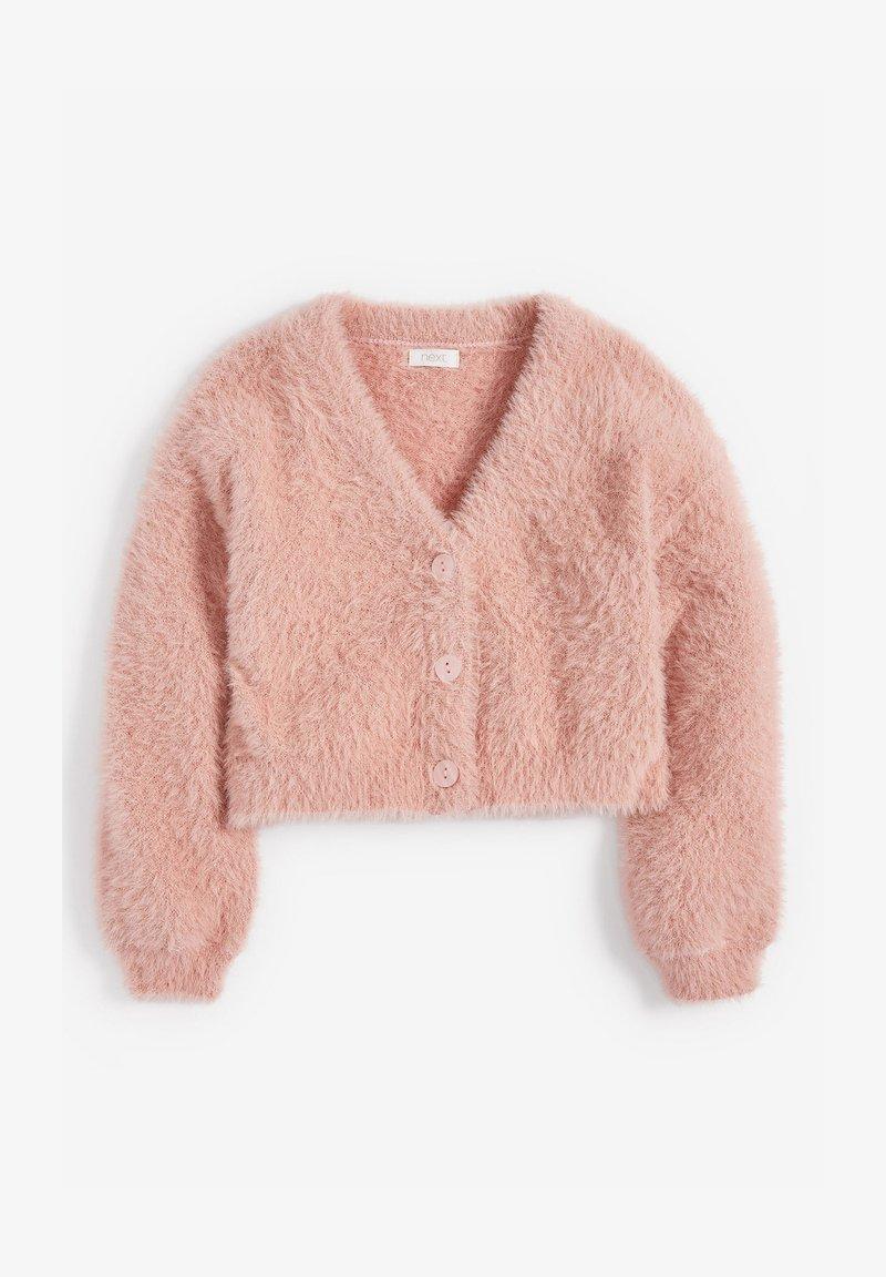 Next - FLUFFY - Kardigan - pink