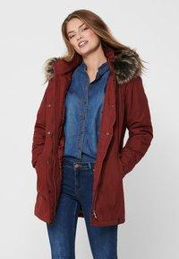 ONLY - ONLKATY  - Winter coat - fired brick - 3