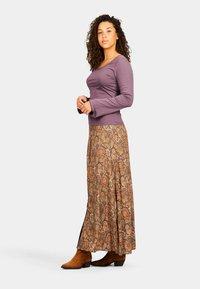Isla Ibiza Bonita - SANT RAFEL - Maxi skirt - mysterious indian flowers - 3