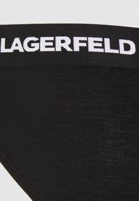 KARL LAGERFELD - LOGO BRIEF 2 PACK - Briefs - black - 6