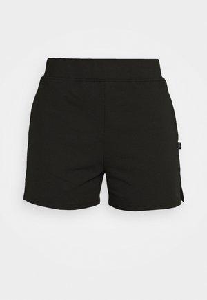 POST SHORT - Krótkie spodenki sportowe - black