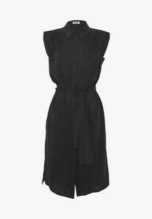 ANIKE - Shirt dress - black