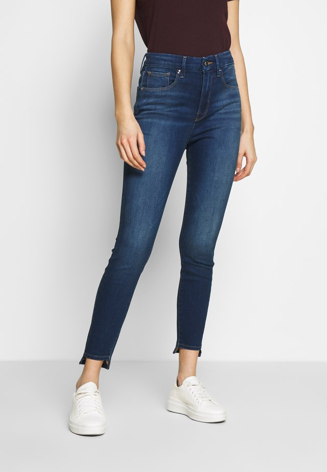 GOOD WAIST STEP HEM - Jeans Skinny - blue