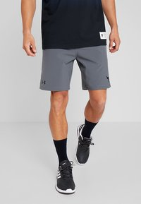 Under Armour - PROJECT TRAINING SHORT - Sports shorts - pitch gray/black - 0