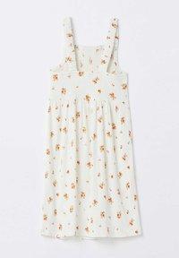DeFacto - REGULAR FIT  - Jersey dress - white - 1