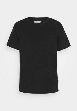 MYSEN BASE  - Jednoduché triko - black