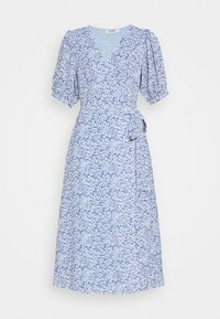 Glamorous - WRAP AROUND MIDI DRESS WITH TIE DETAIL AND SLEEVES - Day dress - blue - 5