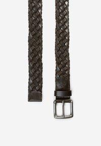 Marc O'Polo - Braided belt - dark chocolate - 1