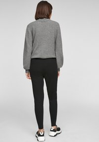 s.Oliver - Tracksuit bottoms - black - 2