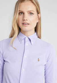 Polo Ralph Lauren - HEIDI LONG SLEEVE - Button-down blouse - hyacinth - 4