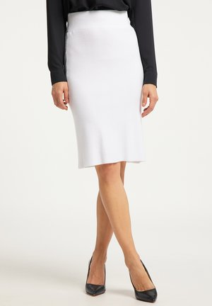 Pencil skirt - weiss