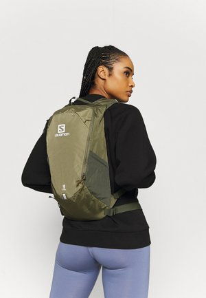 TRAILBLAZER 10 UNISEX - Rucksack - martini olive/olive night/ebony