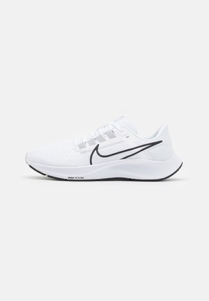 AIR ZOOM PEGASUS 38 - Neutrala löparskor - white/black/pure platinum/volt