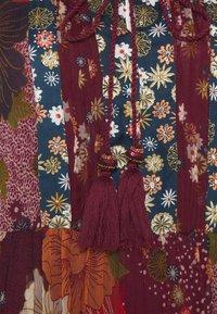 Derhy - ENCOURAGEE ROBE - Denní šaty - burgundy - 2