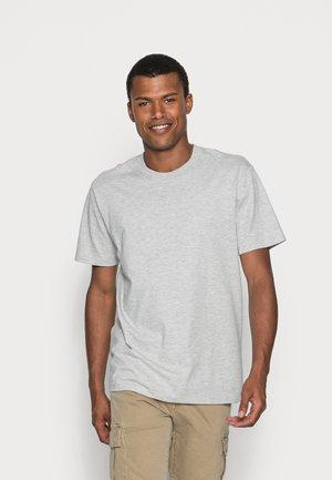 AARHUS - Basic T-shirt - light grey melange