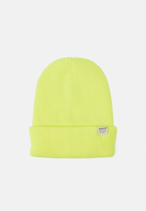 KINABALU BEANIE KIDS - Čepice - fluorecent yellow
