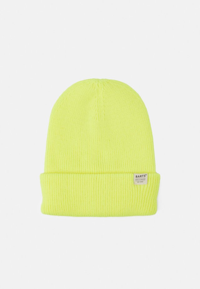 KINABALU BEANIE KIDS - Bonnet - fluorecent yellow