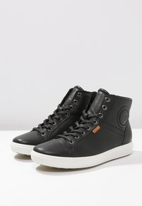 ECCO - SOFT VII - Sneakersy wysokie - black - 2