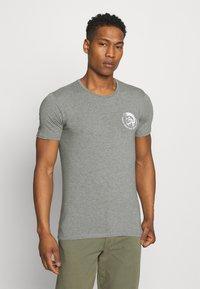 Diesel - UMTEE RANDAL 3 PACK - T-shirt basic - white/ grey melange/ black - 3