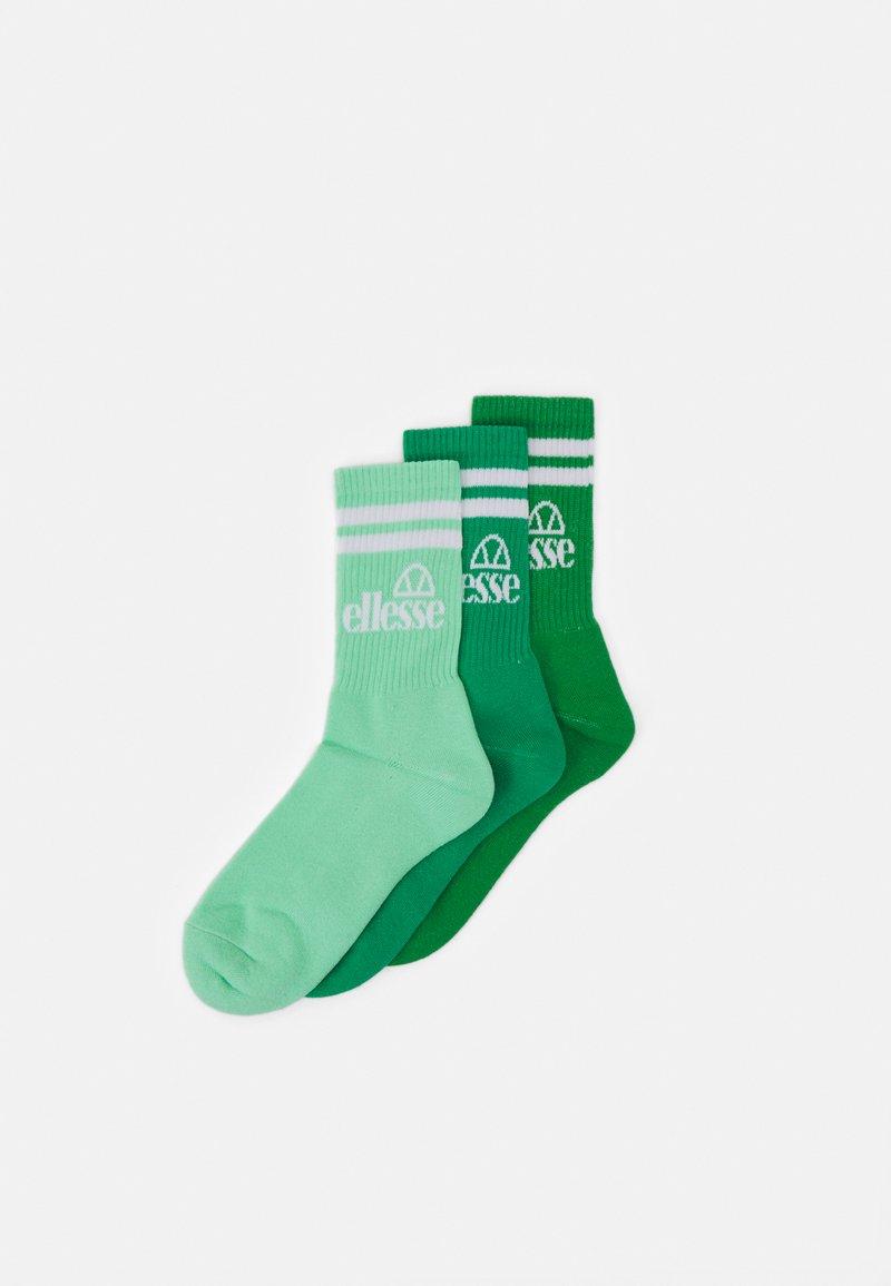 Ellesse - PULLO 3 PACK UNISEX - Ponožky - green