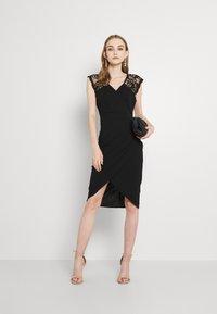 WAL G. - SIENNA MIDI DRESS - Cocktail dress / Party dress - black - 1