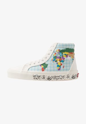 SK8 REISSUE SAVE OUR PLANET - Sneakersy wysokie - classic white/multicolor
