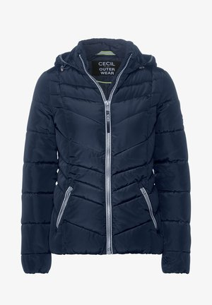 GESTEPPTE - Winter jacket - blau