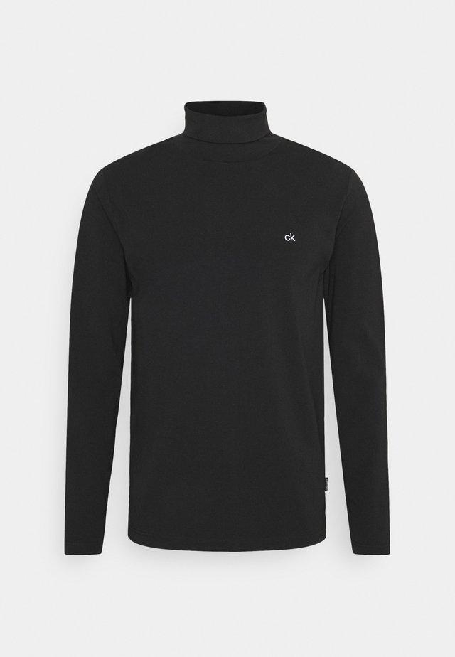 ROLL NECK LONG SLEEVE  - T-shirt à manches longues - black