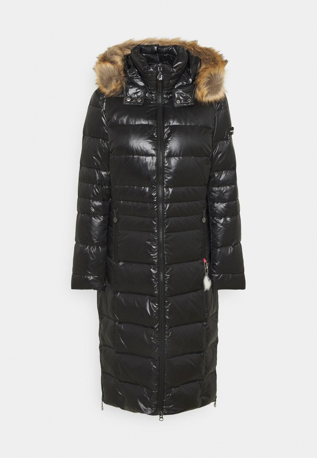 COAT - Down coat - black