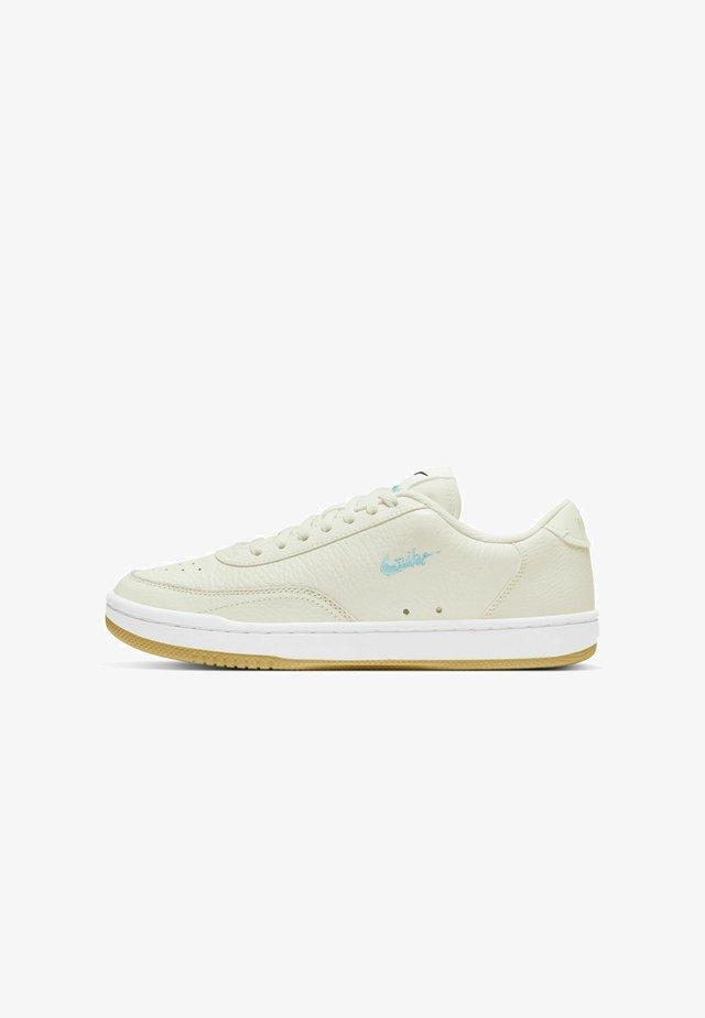 COURT VINTAGE PRM - Sneakers basse - sail/black/white/light dew
