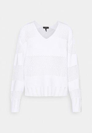 SWEATER BLACK LABEL - Pullover - white