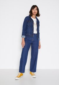 Lee - WIDE LEG - Jeans relaxed fit - rinsed denim - 4