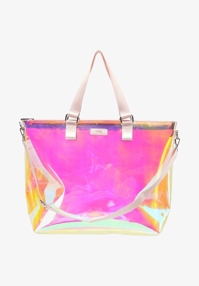 Shopping bag - rosa holo