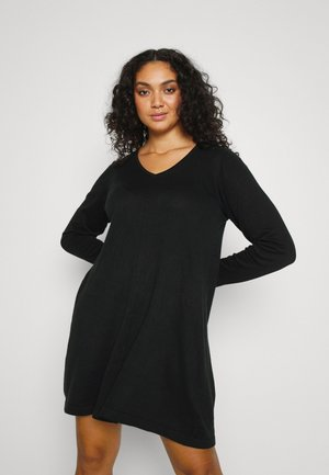 MSHAPE DRESS - Jumper dress - black