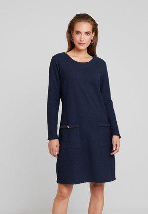 NARA DRESS - Shift dress - captain navy