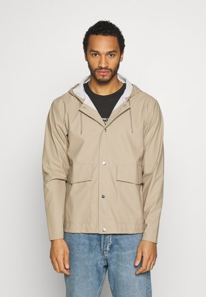 UNISEX SHORT HOODED COAT - Impermeabile - beige