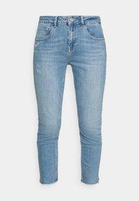 Mos Mosh - BRADFORD LETTER JEANS - Jeans slim fit - light blue - 4