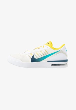 COURT AIR MAX VAPOR WING - Multicourt tennis shoes - white/valerian blue/oracle aqua