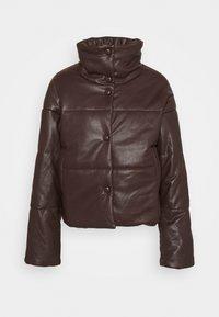NA-KD - PADDED JACKET - Winter jacket - brown - 0